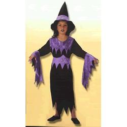 Disfraz Bruja Fosfi con Sombrero (4 a 6 años)