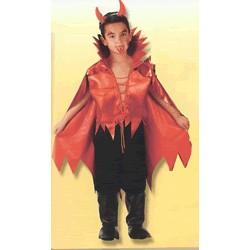 Disfraz Lucifer con cuernos  (7 a 10 años)