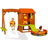 Cabaña columpio de Winnie the Pooh y Piscina de Bolas
