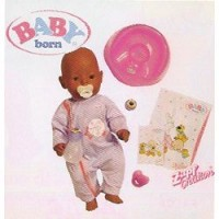 Baby Born Ojos Mágicos Mulato