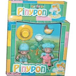 Pareja Pinypon Granjeros