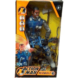 Action Man RedWolf