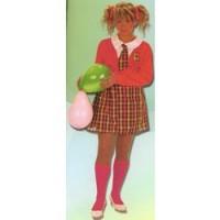 - Disfraz Colegiala con calcetines (Adulto)