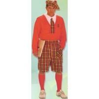 - Disfraz Colegial con calcetines (Adulto)