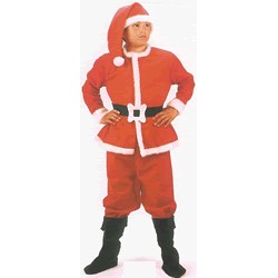 Disfraz Papa Noel (7 a 9 años)