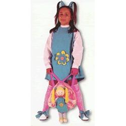 Disfraz Muñeca con Mochila (5 a 7 años)