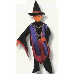 Disfraz Mago con sombrero (3 a 5 años)