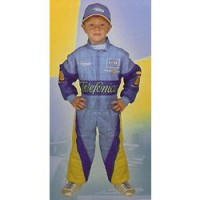 Disfraz Oficial Fernando Alonso (De 7 a 9 años)