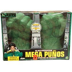 Hulk Mega Puños Electrónicos ¡Con efectos de sonido!