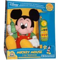 Disney Mickey Mouse y su Teléfono