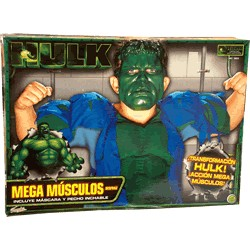 Disfraz Mega Músculos Hulk
