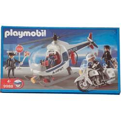 Playmobil Helicóptero Policia