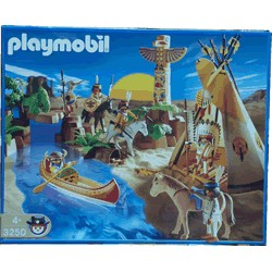 Playmobil Asentamiento Indio