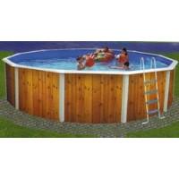 Kit piscina desmontable circular Serie Veta 350x120