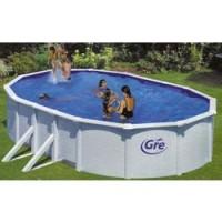 Kit piscina rígida desmontable ovalada
