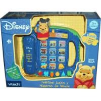 Teléfono Luces y Números de Winnie the Poo