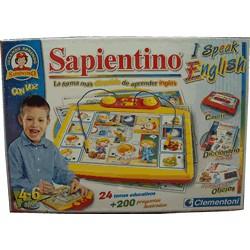 Sapientino I speak English