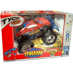 TYCO R/C Spiderman Official Monster Truck Series