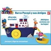 Barco Pocoyo y sus amigos