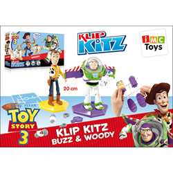 KLIP KITZ Monta tu figura de Woody Toy Story 3