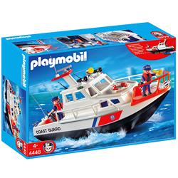 Bote Guardacostas de Playmobil