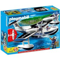 Hidroavión de Playmobil