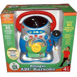 ABC Karaoke bilingüe inglés/español