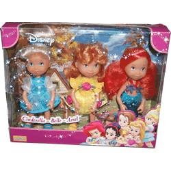 Disney Cinderella-Belle-Ariel