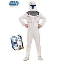 Disfraz Clone Trooper Captain Rex Star Wars (5 a 7 años)