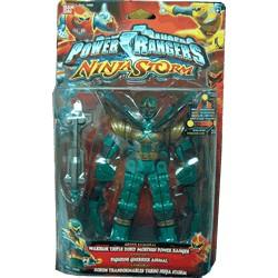 Power Rangers Ninja Storm Green Samurai