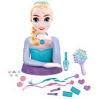 Busto Peinable Musical Elsa Deluxe