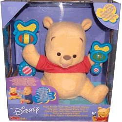 Disney Pooh y su sonajero mágico