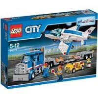 Transporte del reactor de entrenamiento de Lego City