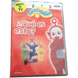 DVD Teletubbies ¿Qué es esto?