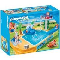 Piscina de los Niños con Fuente de Ballena de Playmobil