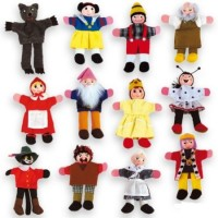 FINGER PUPPETS - 12 characters