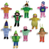 FINGER PUPPETS - 9 characters