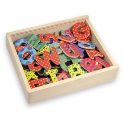 MAGNETIC DECOR LETTERS & NUMBERS - 75 piece