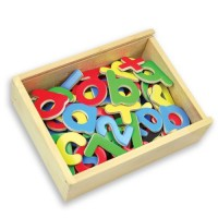 MAGNETIC LETTERS & NUMBERS - 75 piece