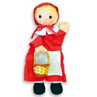HAND PUPPETS - RED RIDDING HOOD