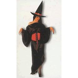 Disfraz Bruja Fashion con gorro (Adulto)