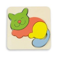 BABY PUZZLE - 6 mod. - KITTY