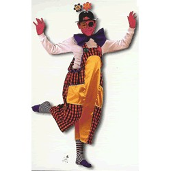 Disfraz Payaso con gorro (5 a 7 años)