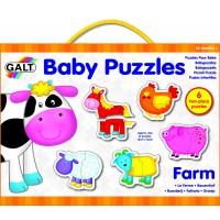 PUZZLES INFANTILES - GRANJA - 12 piezas