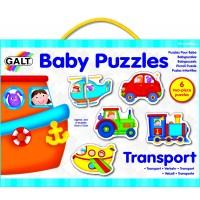 PUZZLES INFANTILES - TRANSPORTE - 12 piezas
