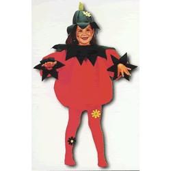 Disfraz Tomate (5 a 7 años)