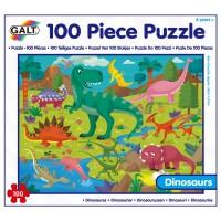 PUZZLE DE 100 PIEZAS - DINOSAURIOS