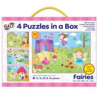 4 PUZZLES HADAS - 12, 16, 20 & 24 piezas
