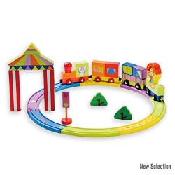 CLOWN TRAIN SET