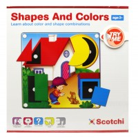 SHAPES AND COLORS - con velcro